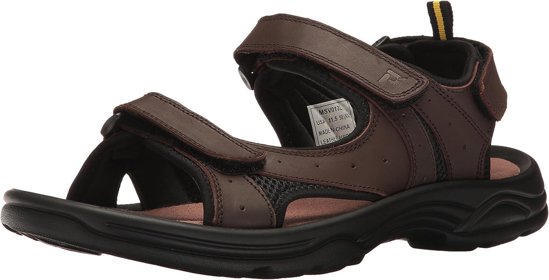 Propét Mens Daytona Flat Sandal