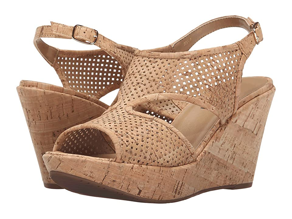 Vaneli Eleni (Natural Cork/Gold Buckle) Women