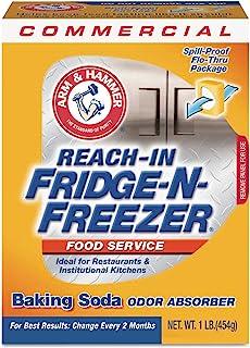 CDC 3320084011CT Fridge-N-Freezer Pack Baking Soda, Unscented, Powder, 16 oz, 12/Carton