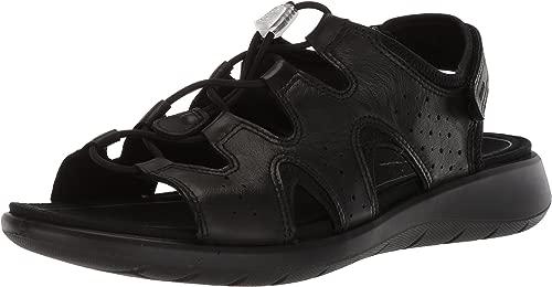 ECCO Woherren Woherren Soft 5 Toggle Sandal, schwarz, 37 M EU (6-6.5 US)