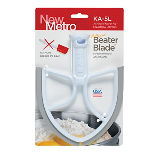 Original Beater Blade for 5-Quart KitchenAid Bowl Lift Mixer, KA-5L,