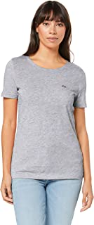 Lacoste Women's Crew Neck Solid TEE