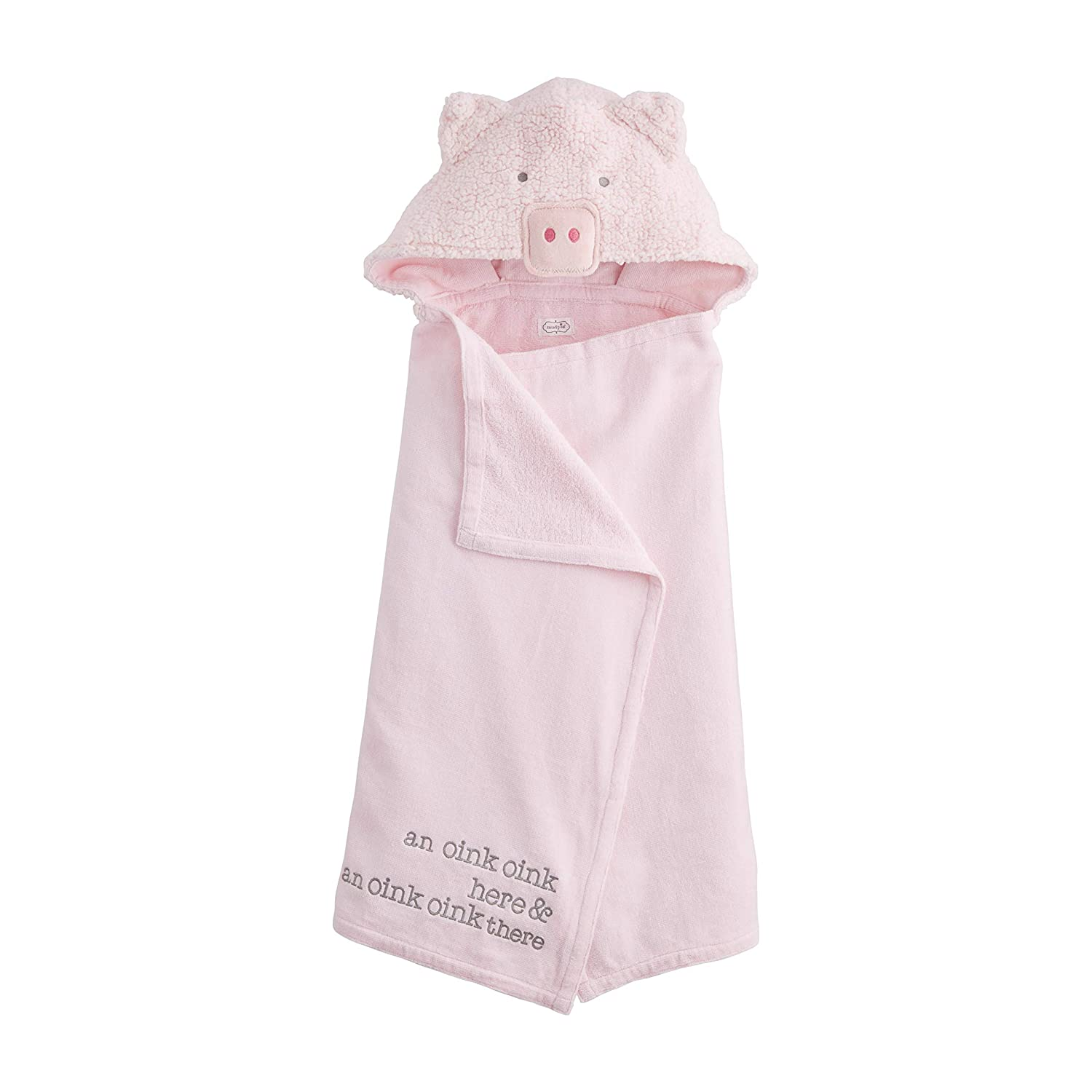 Pig Baby Raleigh gift Mall Hooded Towel
