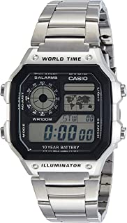 Casio Digital Caballero AE-1200WHD-1AVDF Unisex Watch