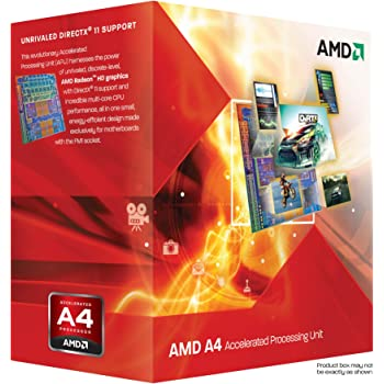 AMD A6-Series APUs A4-3300 TDP 65W 2.5GHz×2 AD3300OJGXBOX