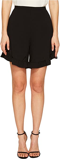 Crepe Ruffle Shorts