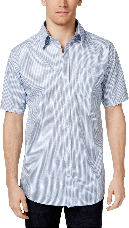 Weatherproof ☆新作入荷☆新品 Mens Diamonds in The Button Rough Shirt 販売実績No.1 Up