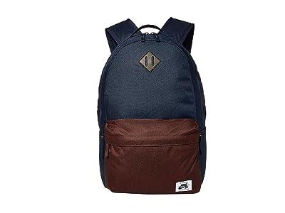 Nike SB Icon Backpack (Obsidian/Mahogany/White) Backpack Bags