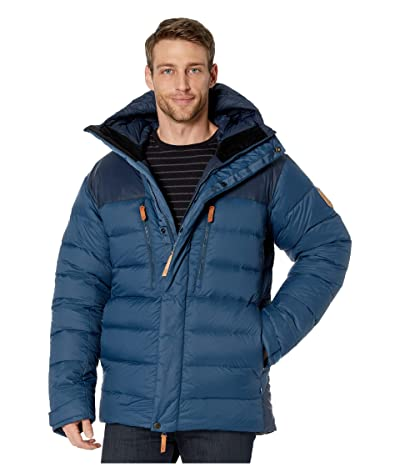 Fjallraven Keb Expedition Down Jacket (Storm/Night Sky) Men