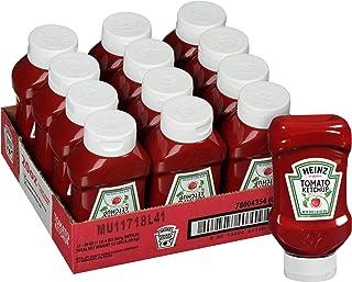 Heinz Ketchup Forever Full Inverted Bottle (20 oz, Pack of 12)
