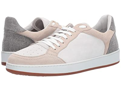 eleventy Suede Sneaker with Contrast (Sand) Men