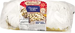 Winternacht Marzipan Stollen, Imported from Germany, 26 Ounces / 750 grams