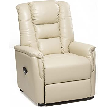 Montreal Dual Motor Riser Recliner Mobility Chair in Cream