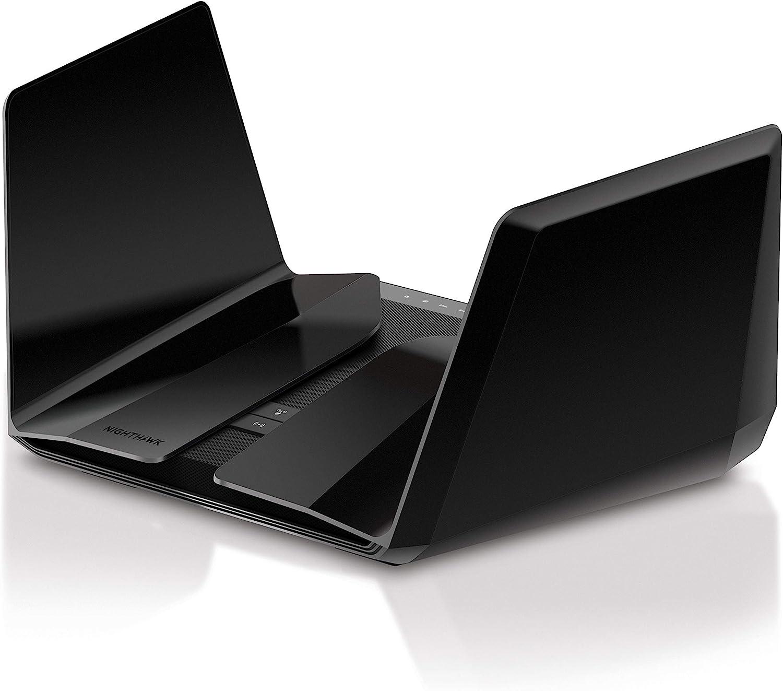 NETGEAR Nighthawk AX12 Dual-Band 12-Stream Wi-Fi Router RAX120-100NAS (Renewed)