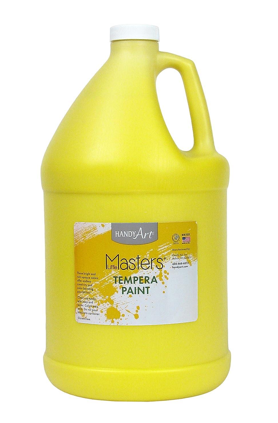 Handy Art Little Masters Tempera Paint Gallon, Yellow