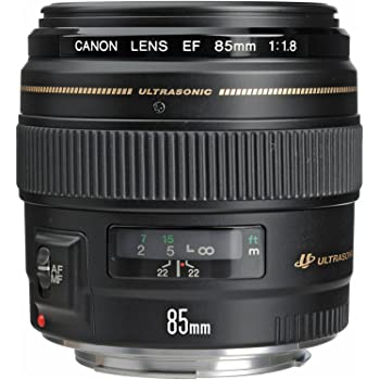 Canon EF 85mm f/1.8 USM Medium Telephoto Lens for Canon SLR Cameras - Fixed