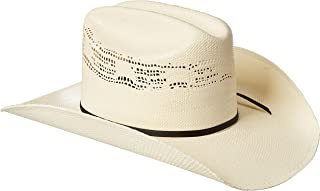 painted western hats
