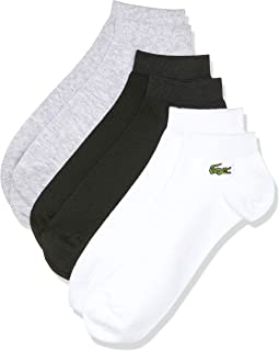 Lacoste Men's Sport Ankle Athletic Socks