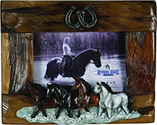 River`s Edge Beautiful Genuine Firwood 4 x 6 Picture Frame