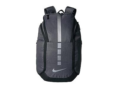 Nike Hoops Elite Pro Backpack (Dark Grey/Black/Metallic Cool Grey) Backpack Bags