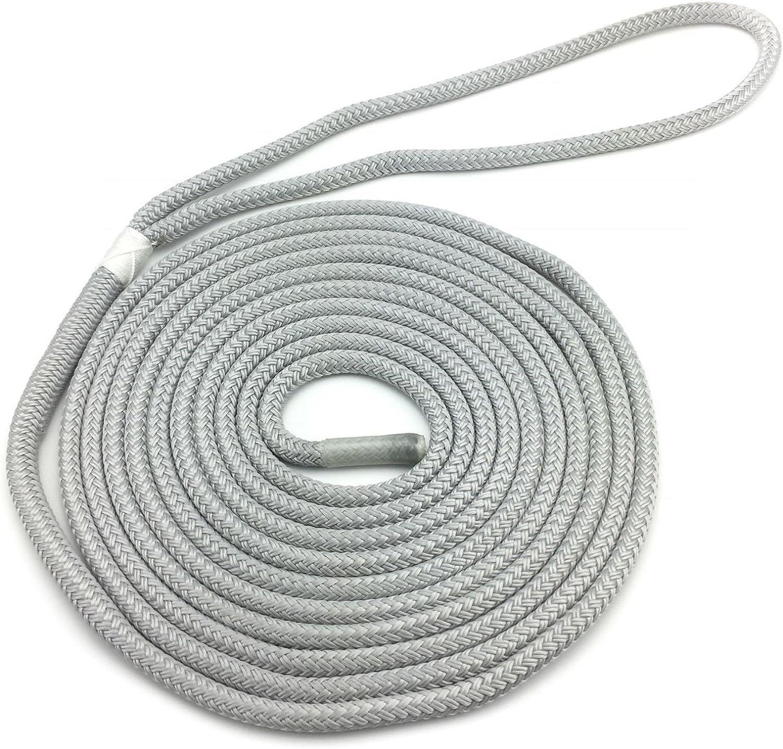 Ropeservices Ropeservices Ropeservices UK 10 mm grau pre-spliced Polyester Dockline X 15 Meter. Double Braid Polyester Kupfergeflecht auf Braid Festmacher Seil Dock Linien B07D9P7QSD  Förderung 7d313b