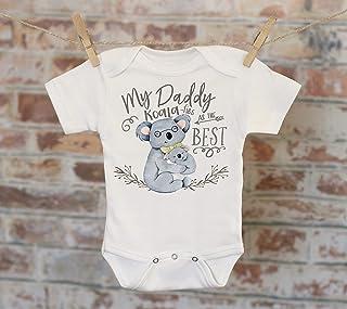 My Daddy Koala-fies As The Best Koala Onesie®, Daddy Onesie, Bohemian Onesie, Cute Onesie, Boho Baby Onesie, Love Onesie