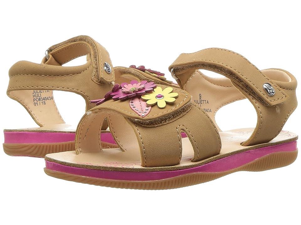 Naturino Express Julietta (Toddler/Little Kid) (Tan) Girls Shoes