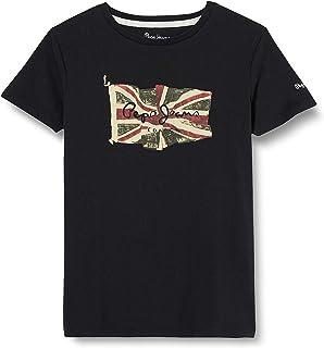 Pepe Jeans Flag Logo S/S T-Shirt Homme
