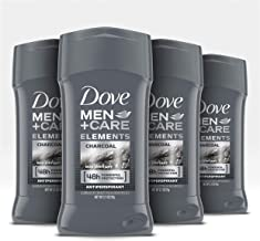 Dove Men+Care Antiperspirant Deodorant Stick Tough on Sweat, Not on Skin Charcoal 48 Hour Sweat and Odor Protection 2.7 oz...