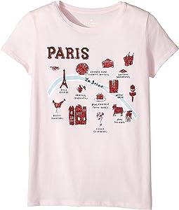 Kate Spade New York Kids - Paris Tee (Little Kids/Big Kids)