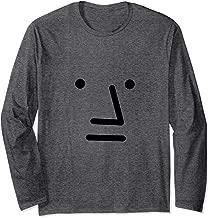 NPC meme Gray Face Long Sleeve T shirt