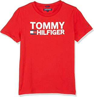 TOMMY HILFIGER Boys' Organic Cotton Logo T-Shirt Highlights