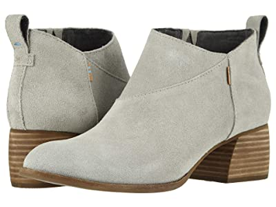 TOMS Leilani (Drizzle Grey Suede) Women