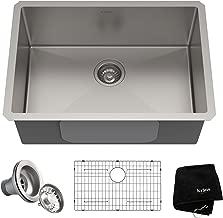 Kraus KHU100-26 Kitchen Sink, 26 Inch, Stainless Steel