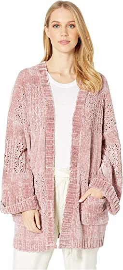 Honey Chenille Cardigan