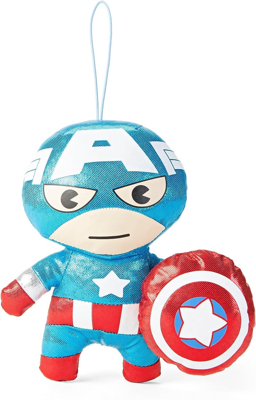 Marvel Kawaii Art Collection Gloss Captain America Plush Toy