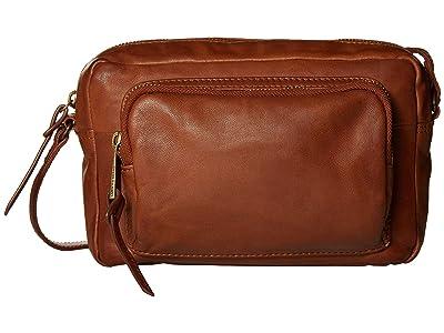 Lucky Brand Caro Crossbody (New Cognac) Handbags