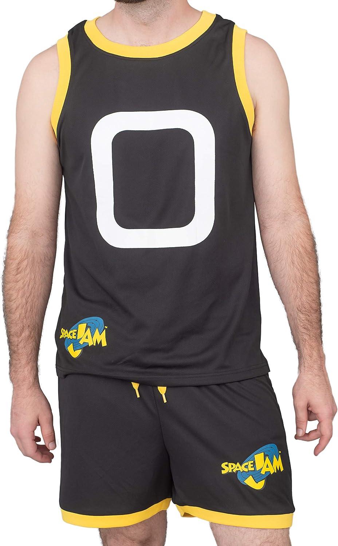 1 year warranty Space Jam specialty shop Tune Squad Monstars Jersey Basketball Costum Halloween