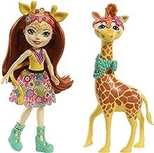 Enchantimals Muñeca con mascota Gillian Giraffe (Mattel FKY