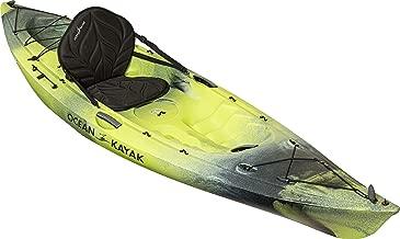 Ocean Kayak Venus 10 One-Person Women's Sit-On-Top Recreational Kayak, Lemongrass Camo, 9 Feet 10 Inches