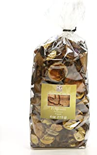 Hosley's Sandalwood Vanilla Scented, Natural Potpourri Bag, 4 oz. Infused with Essential Oils. Ideal Gift for Weddings, Spa, Reiki, Meditation Settings O3