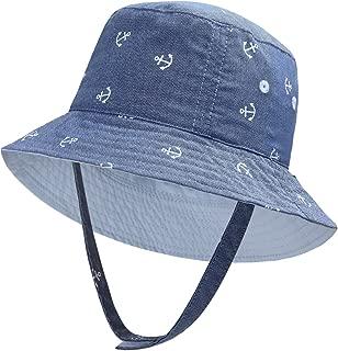 Baby Boy Sun Hats Toddler Boy Bucket Hats Kid Sun Helmet 0-6years Old