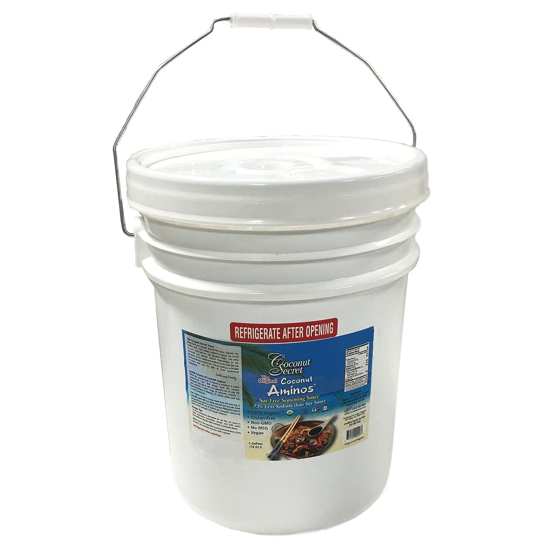 Coconut Secret Raw Organic 5 Gallons Max 73% Jacksonville Mall OFF Aminos