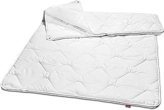 sleepling 190043 Basic 160 Decke Mikrofaser 4-Jahreszeiten 155 x 220 cm, weiß