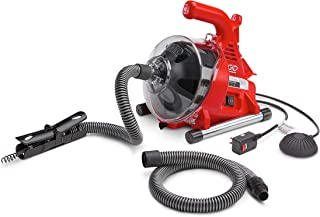 Ridgid 55808 PowerClear Drain Cleaning Machine 120V Drain Cleaner Cleans Tub, Shower or Sink Blockages from 3/4