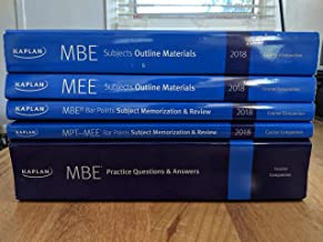 Kaplan Bar Review 2018 Materials (NEW), including MBE, MPT, MEE
