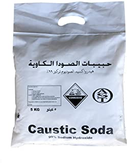 Caustic Soda (Sodium Hydroxide) 5Kg Bag - AST