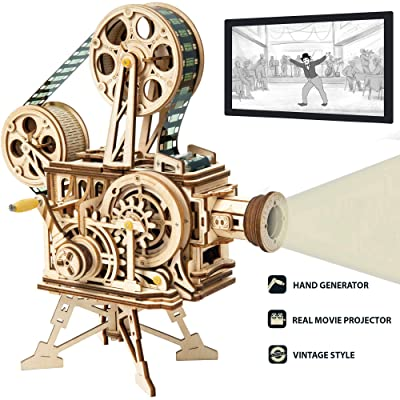 ROKR 3D Wooden Puzzle Mechanical Model Kits for...