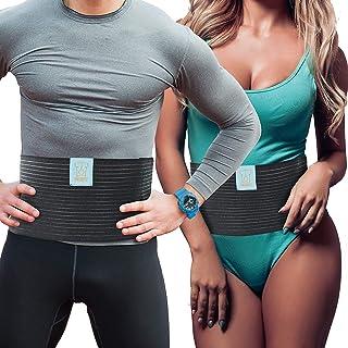 Ventre Sport Mise en Forme Du Corps Mince YRW Dispositif DEntra?Nement /à la Taille Abdominale pour Hommes Ceinture Anti-M/èChe pour Femmes Bleu XL