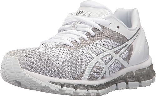ASICS femmes GEL-Quantum 360 3 FonctionneHommest chaussures,blanc Snow Snow argent,US 8.5 B  qualité fantastique